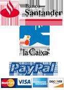 formas de pago merchandising